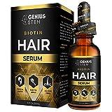 Genius Hair Oil, Healthy Hair Support Serum, to Support Strong, Thick, Long Hair, Hair Support for Women and Men Hair Serum 1fl oz