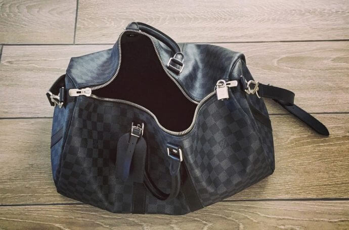 louis vuitton weekend bag for guy