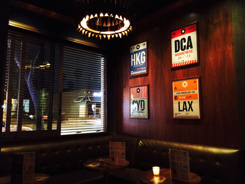Now Boarding bar in West Hollywood