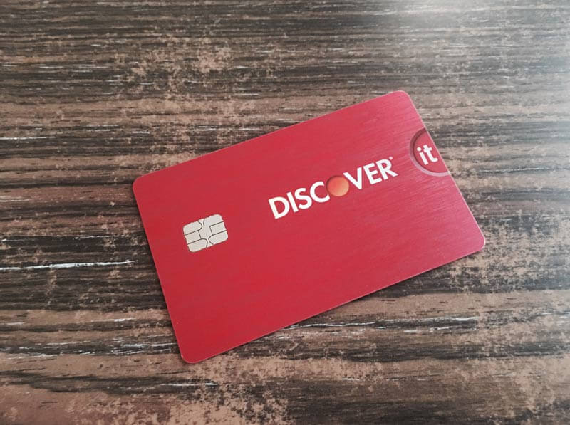 discover pink card