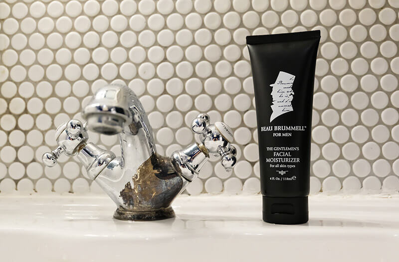 Beau Brummell, a line of men skin care products