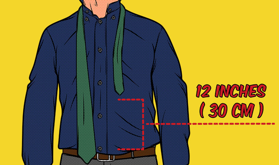 How to tie a tie ?