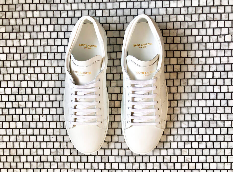 SAINT LAURENT Sneakers blanches SL 01