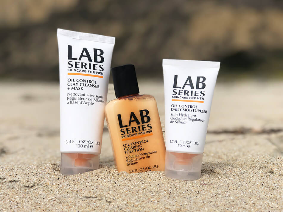 lab series oil control products for guys