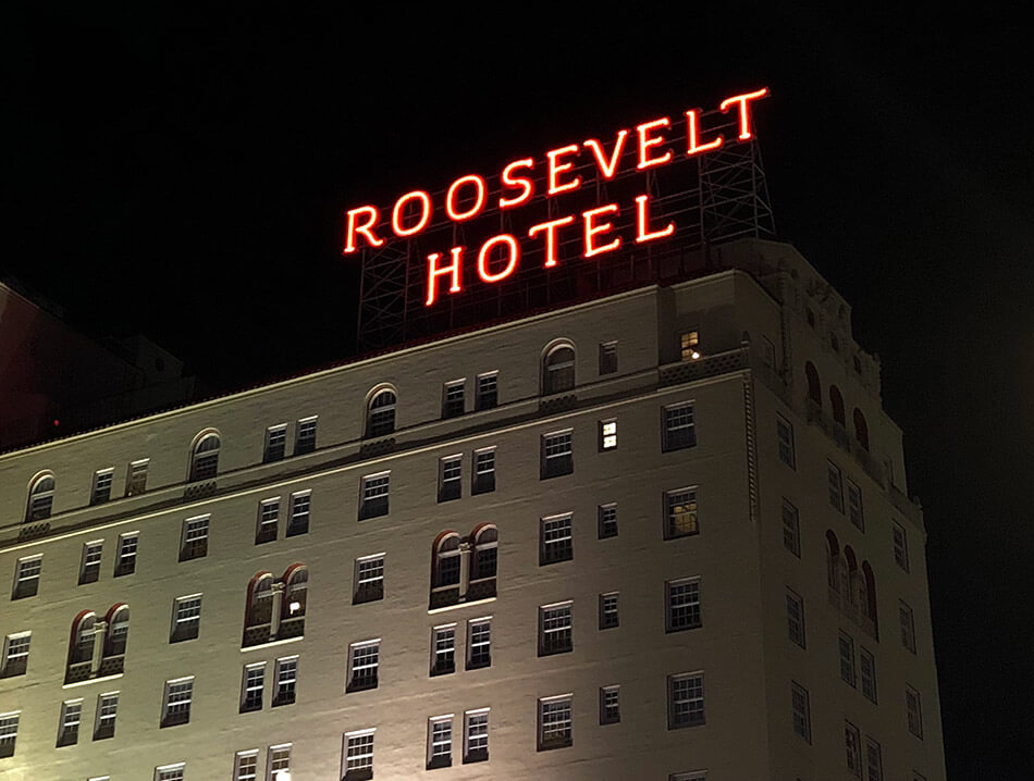 Hôtel Roosevelt Hollywood California