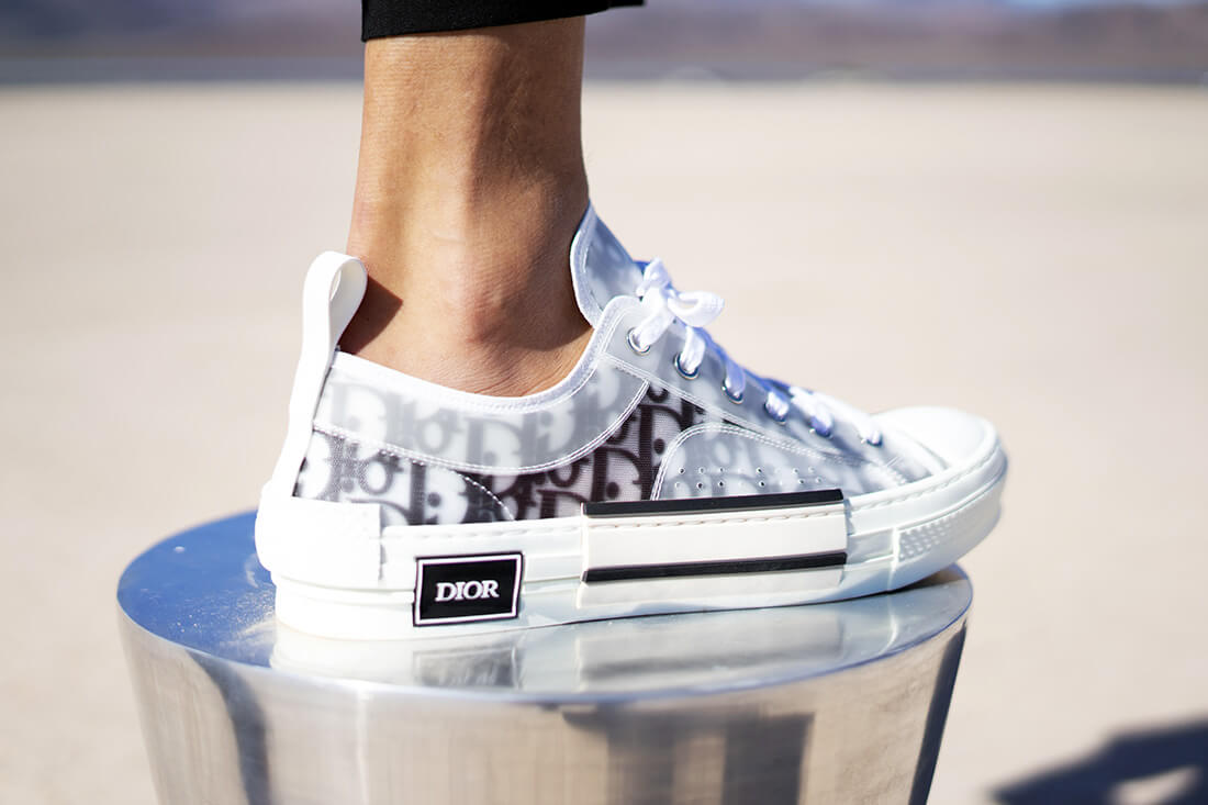 Dior Homme Sneakers: Review about the OBLIQUE TECHNICAL CANVAS
