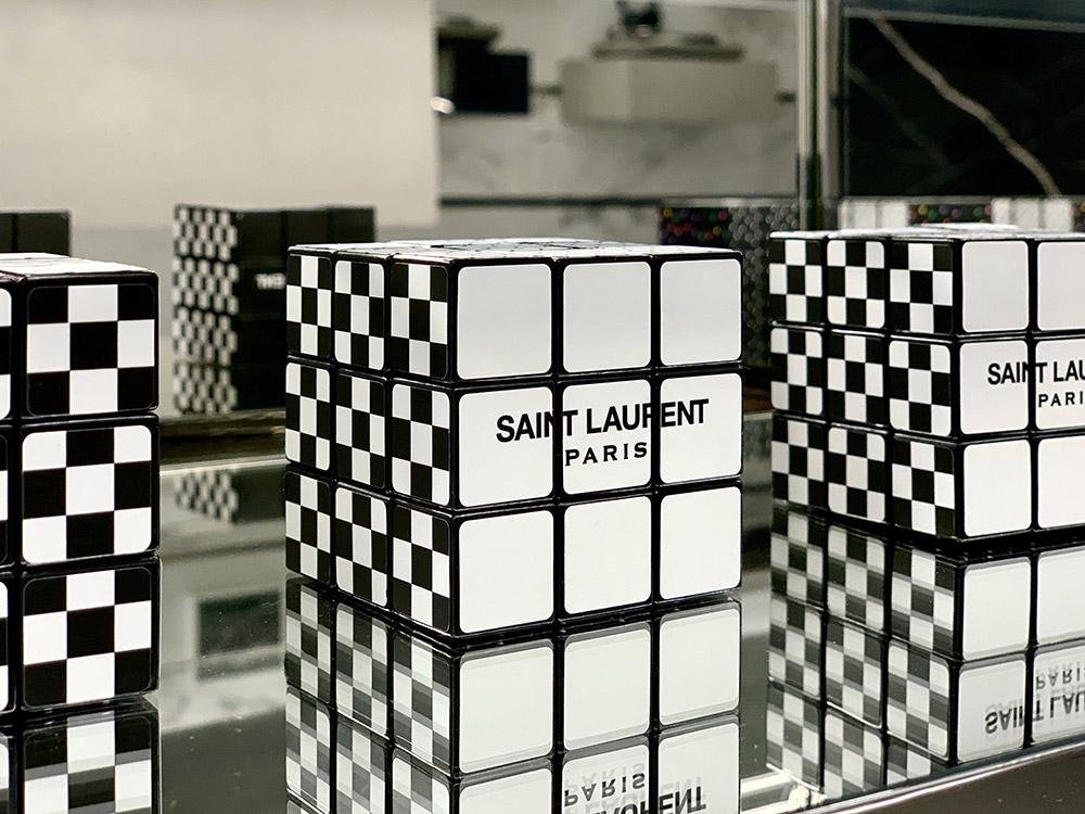 rubik's cube saint laurent