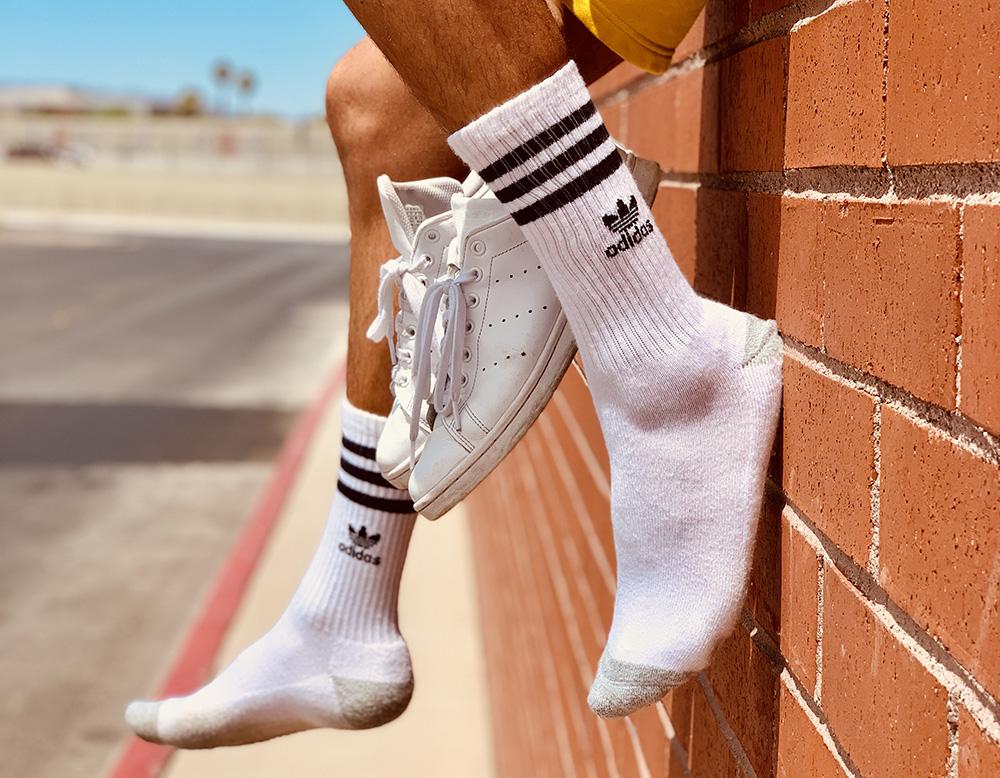 white socks review