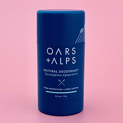 Oars + Alps Natural Deodorant in Fresh Ocean Splash