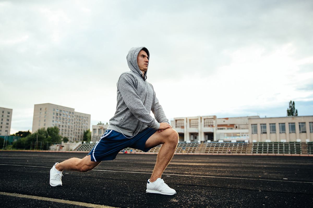 Bodyweight Lunges Training