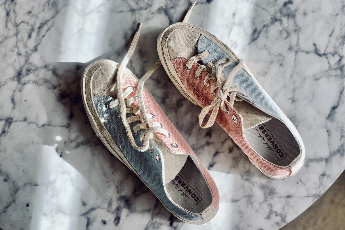 Recycled Converses