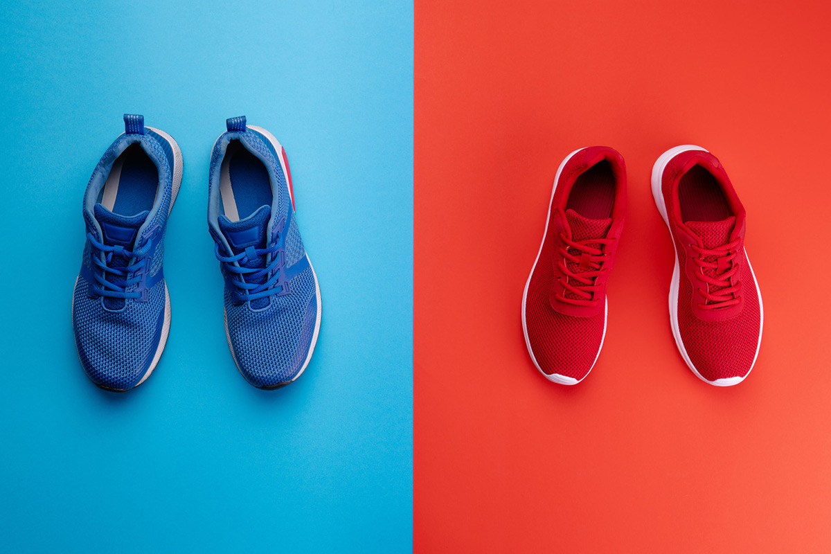 Comparison Between Training Shoes and Running Shoes