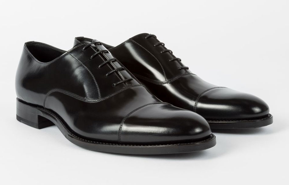 Paul Smith 'Carlisle' Men's Black Suede Oxford Shoes