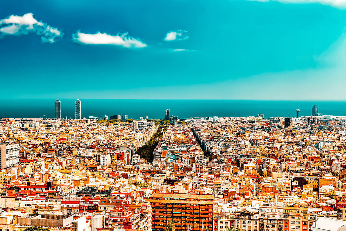Barcelona a place to visit in Europe