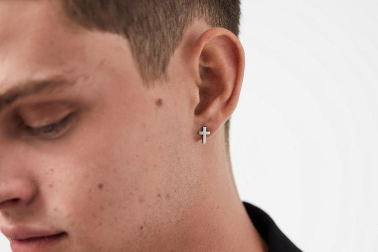 Beginner's Guide to Men's Earrings