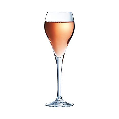 Arcoroc H8466 Flûte à champagne Brio, Verre ultra transparent, 9,5...