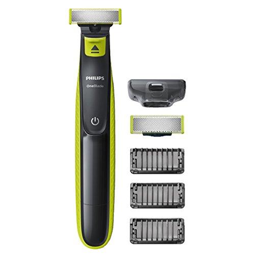Philips QP2520/30 OneBlade, Rechargeable, 100 % étanche, 3 sabots...