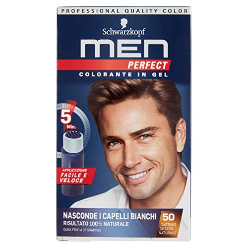 testanera – Perfect Men, colorant en Gel, 50 Chtain Clair...