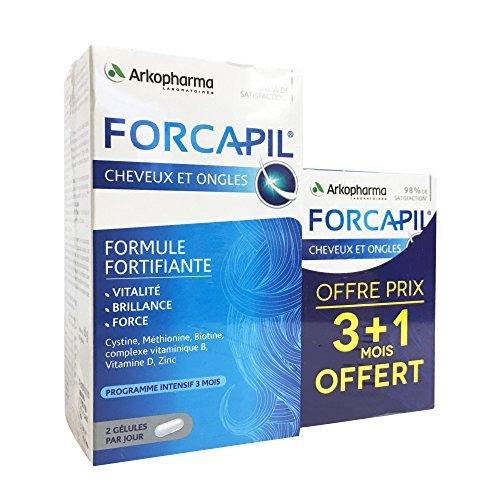 Arkopharma - Forcapil - Formule fortifiante pour Cheveux et Ongles -...