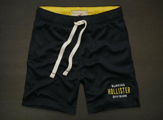 hollister nouveaux shorts de sport