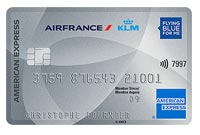 American Express Air France Silver