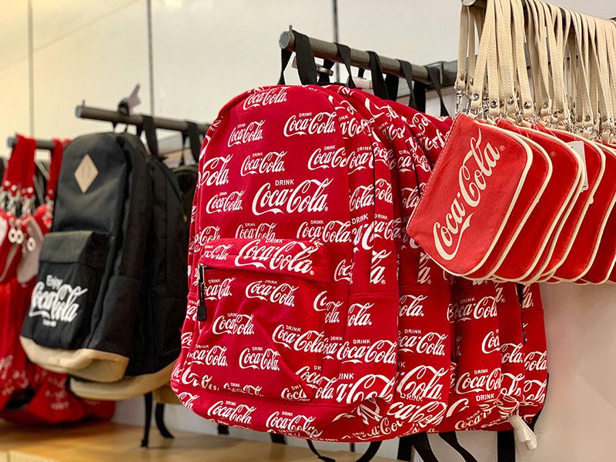 boutique Coca Cola à Las Vegas