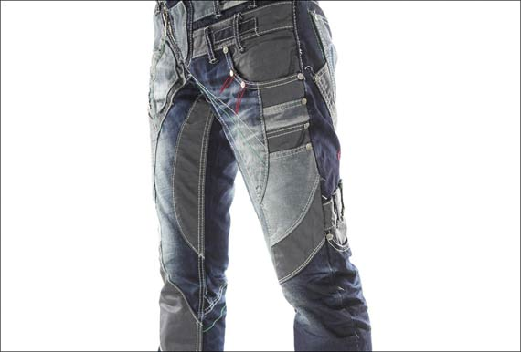 jean homme multicouche