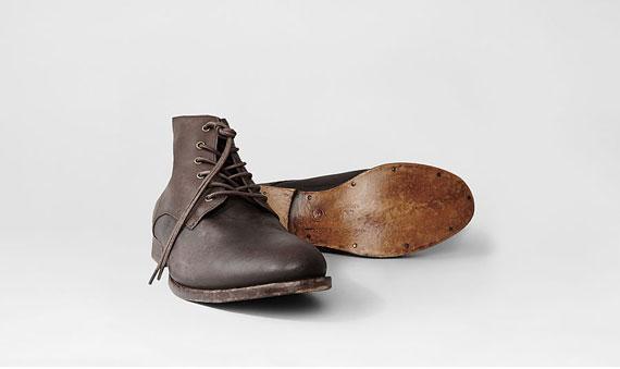 boots homme cuir brun allsaints