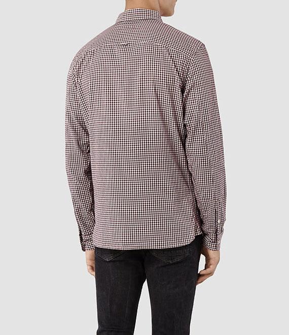 chemise homme allsaints-dos
