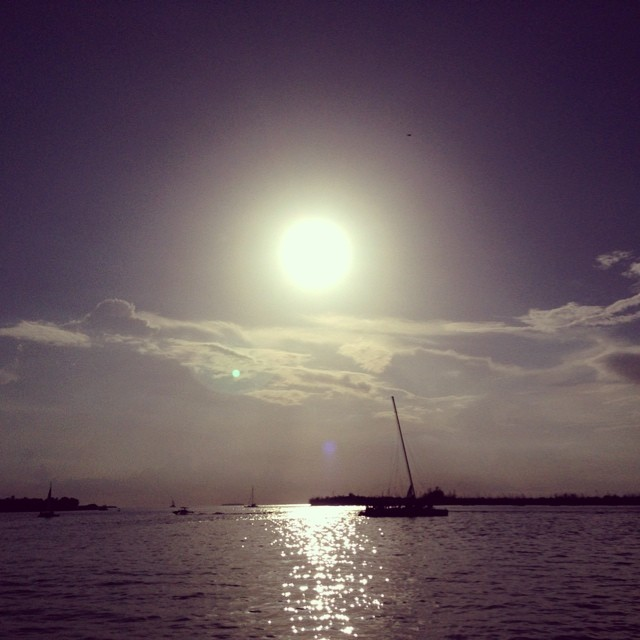 Sunset on boat... #magic #keywest #usa #florida