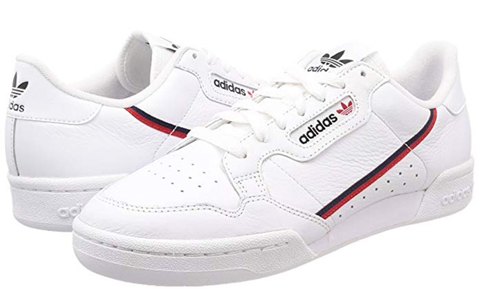 Adidas Continental 80 blanches