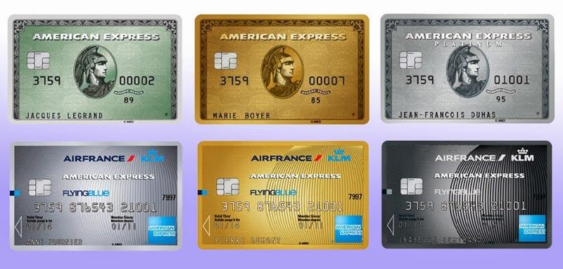 Quel Avantage Carte American Express.Cartes American Express Air France Klm Et Cartes American