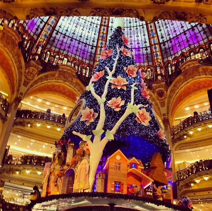 Sapin de Noël Paris