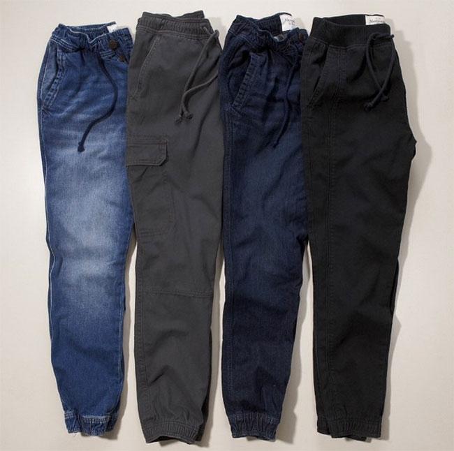 pantalons abercromie joggings