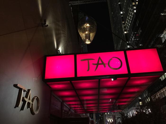 Tao restaurant thai new york pour enflammer votre soir e for 22 thai cuisine new york ny