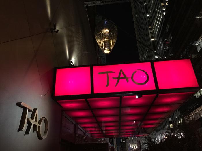 Restaurant Tao à New York