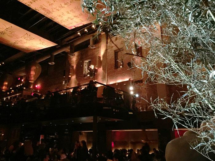 Salle du restaurant Tao à New York