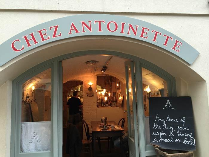 Chez Antoinette à Londres