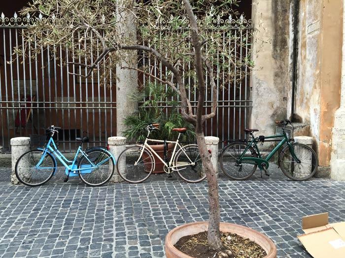 Vélos à Romme
