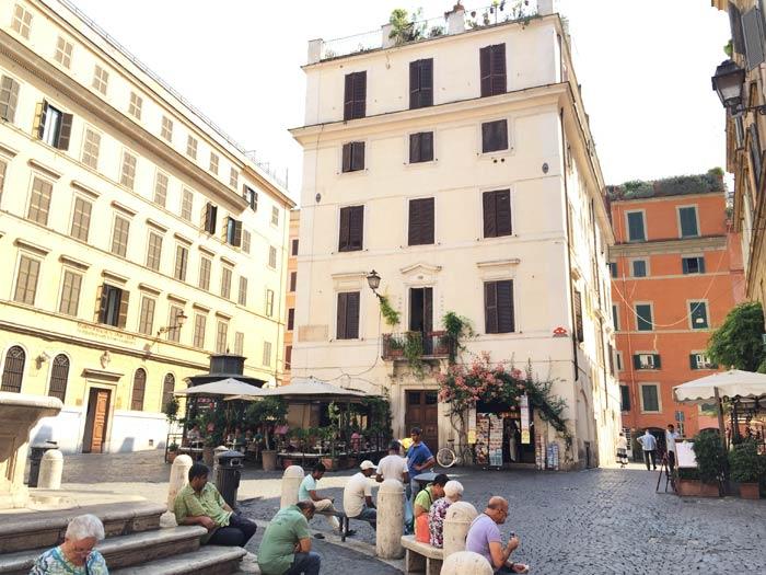 Place à Rome