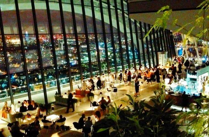 Bar Sky Pod à Londres
