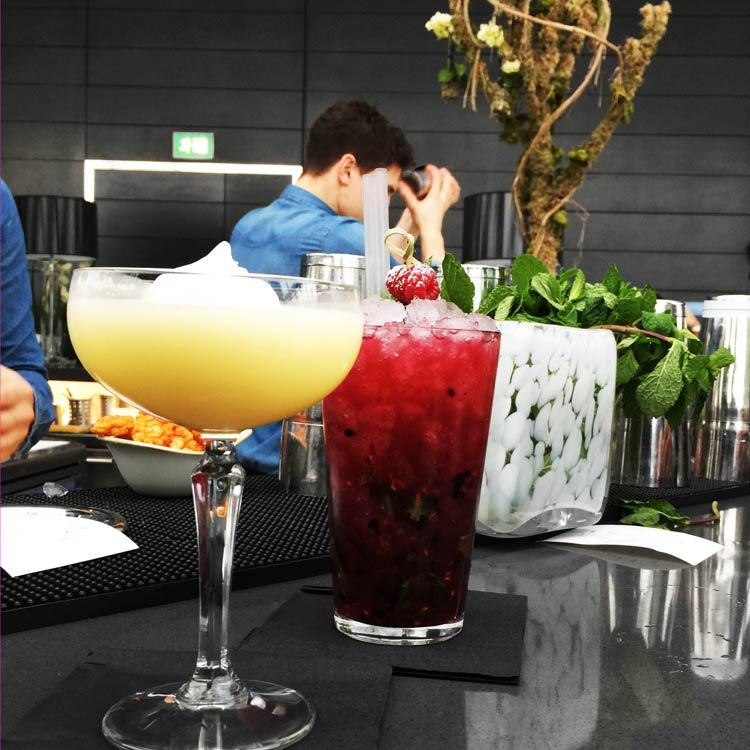 cocktails au Sky Pod à Londres
