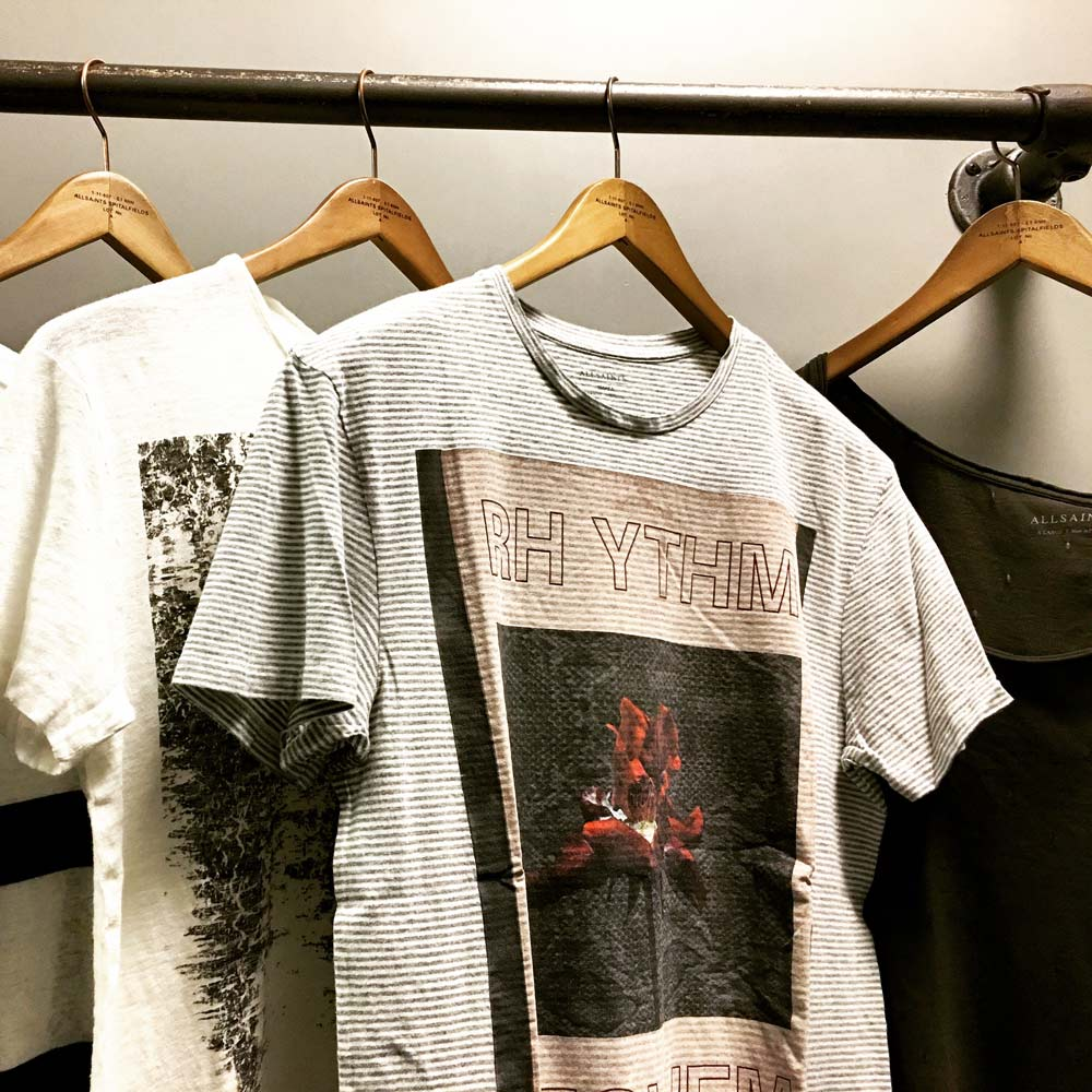 tee shirts pour homme All Saints
