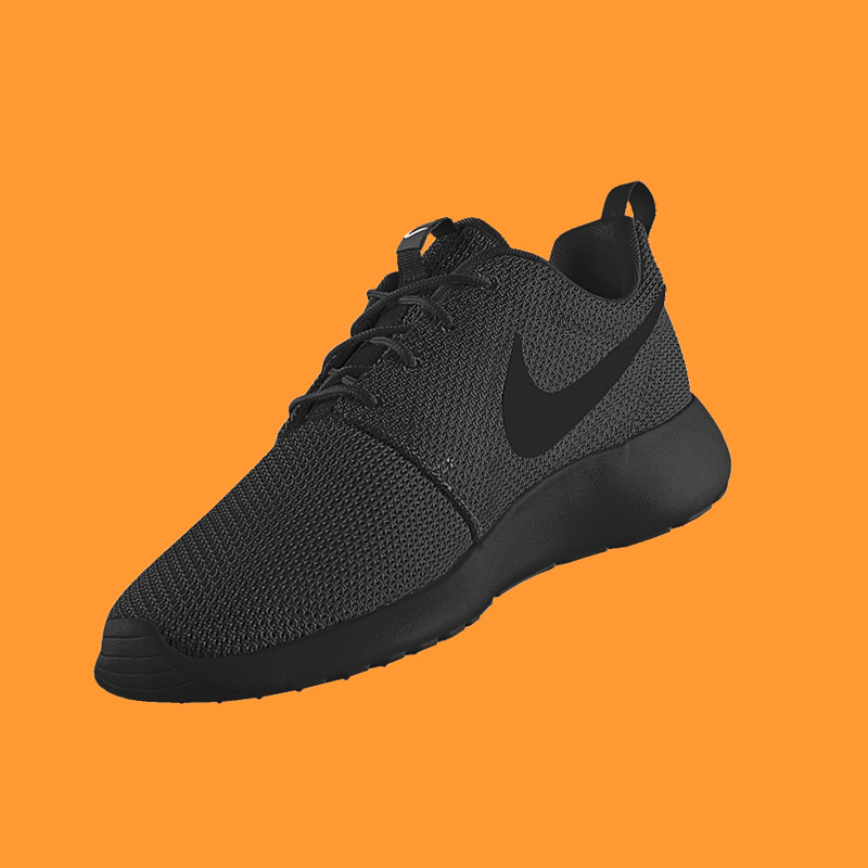 Nike Roshe One ID ALL BLACK