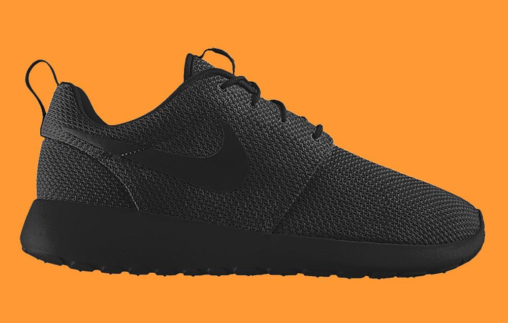 Nike Roshe One ID ALL BLACK