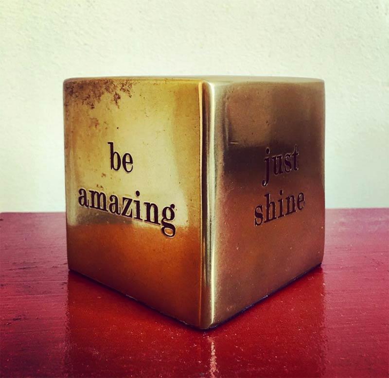 Be amazing !