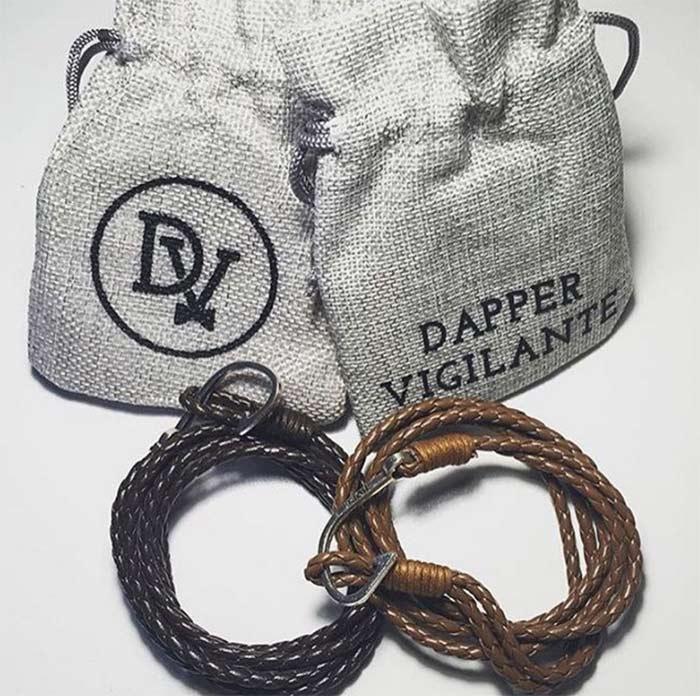 Rope Bracelets par Dapper Vigilante