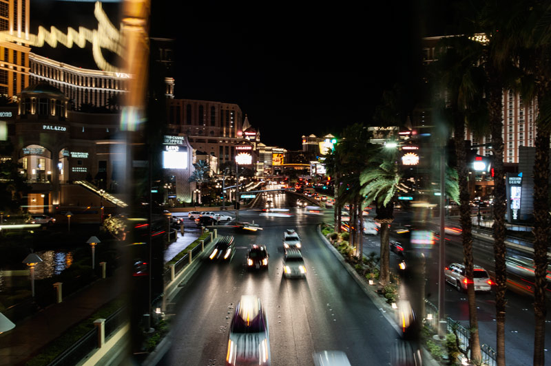 Las Vegas boulevard la nuit