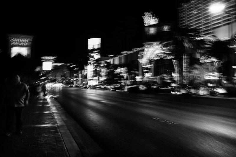 Las Vegas noir et blanc