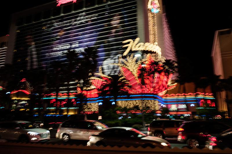 Las Vegas lumières